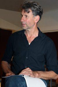 Artistiek leider Albert Hoex