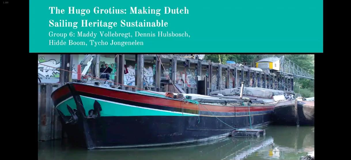 Making Dutch sailing heritage sustainable